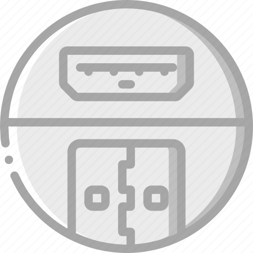 charging, essential, port, usb icon