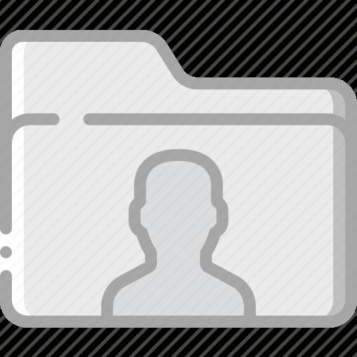 essential, file, folder, user icon