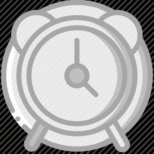 alarm, clock, essentials icon