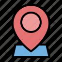 essentials, location, map, pin, navigation, gps