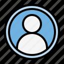 essentials, profile, avatar, man, person
