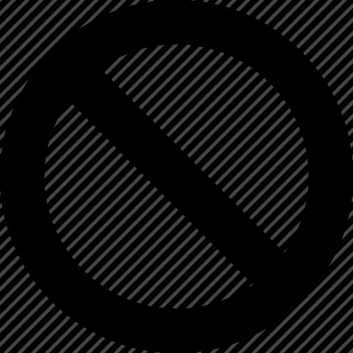 block, break, brick, denial, reject, section, stop icon