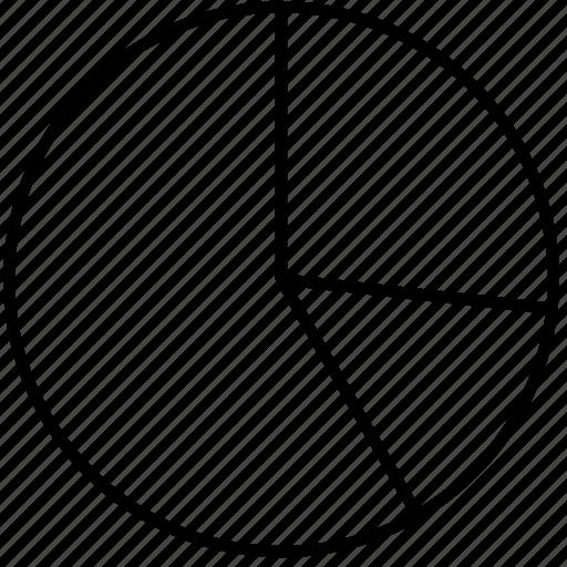 analysis, analytics, business, chart, circle, data, distribution, pie, statistic icon