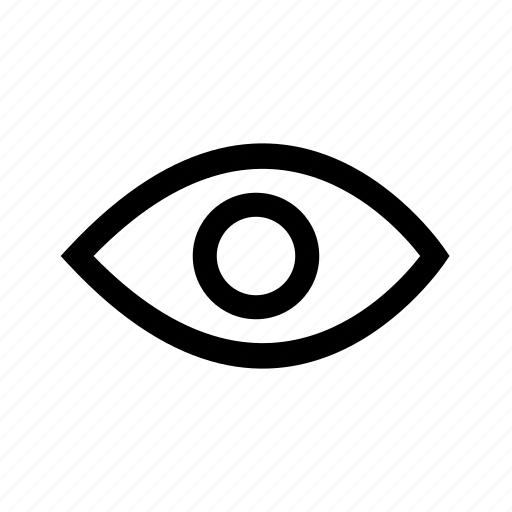 eye, search, view, vision icon