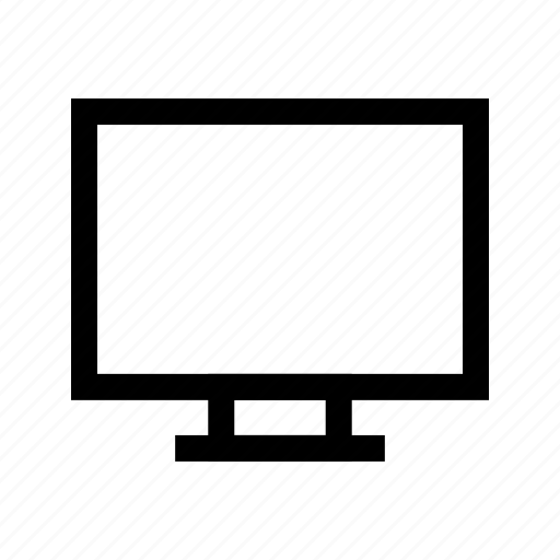 computer, laptop, lcd, monitor icon