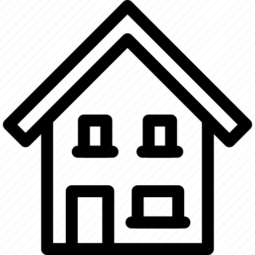 home, house, place, weekend icon