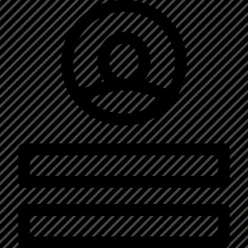 account, log on, login, password icon