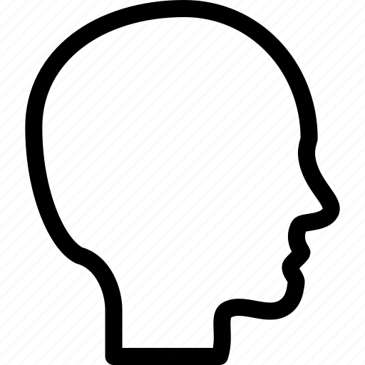 face, head, human, person icon