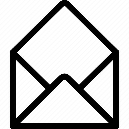 card, envelope, letter, pst icon