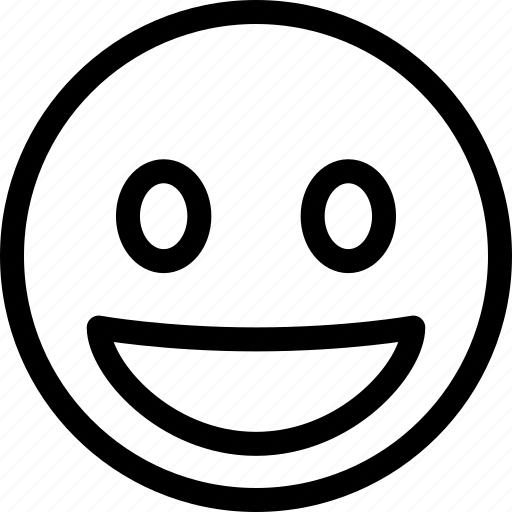 emoticon, emotion, happy, smiley icon