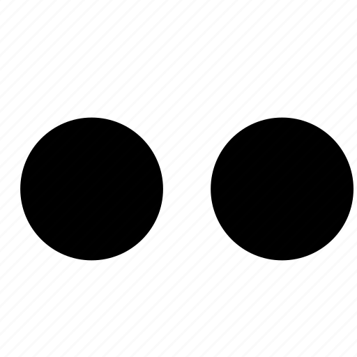 dots, full, stop, waiting icon