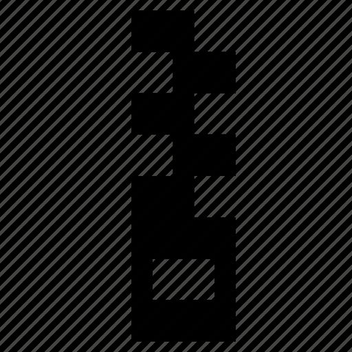 lock, tied, zip icon