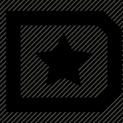 favourite, label, tag icon