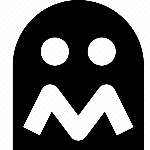 arcade, game, gaming, ghost, pacman icon