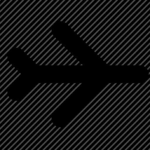 aeroplane, air, landing, plane icon