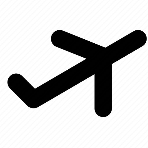 aeroplane, air, plane, take off icon