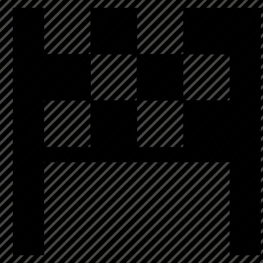 checkered, finishing, flag icon