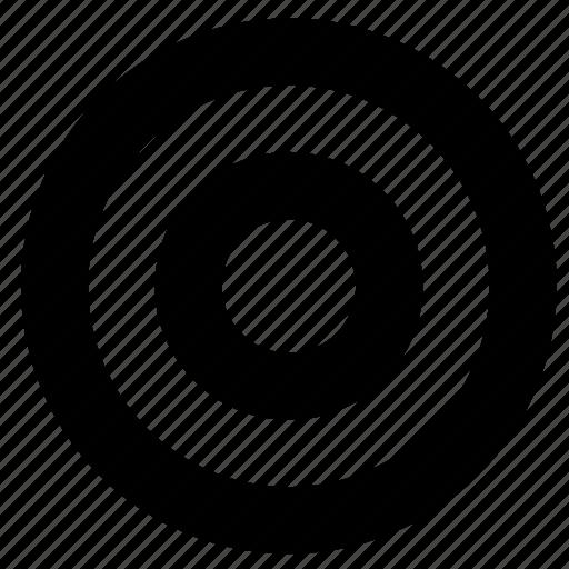 aim, circles, target icon