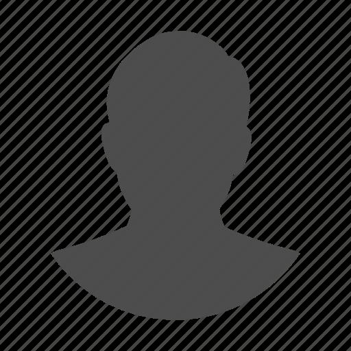 account, avatar, head, man, person, profile, user icon