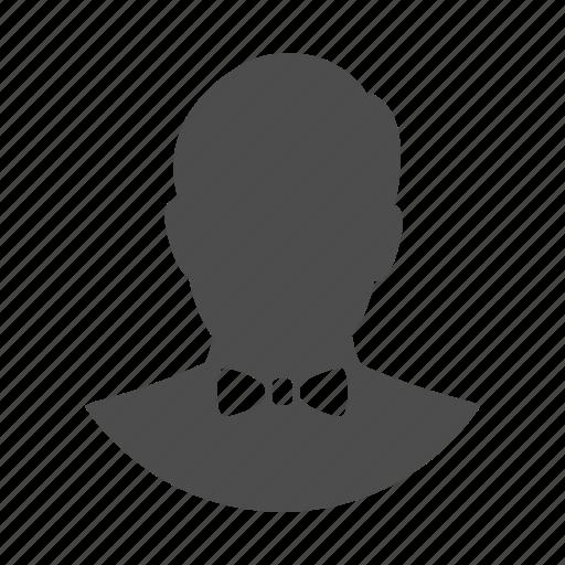 account, avatar, birthday, bow, person, profile, user icon