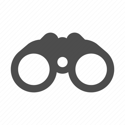 binoculars, find, scope, search, see, view, zoom icon