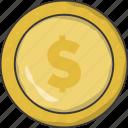 coin, money