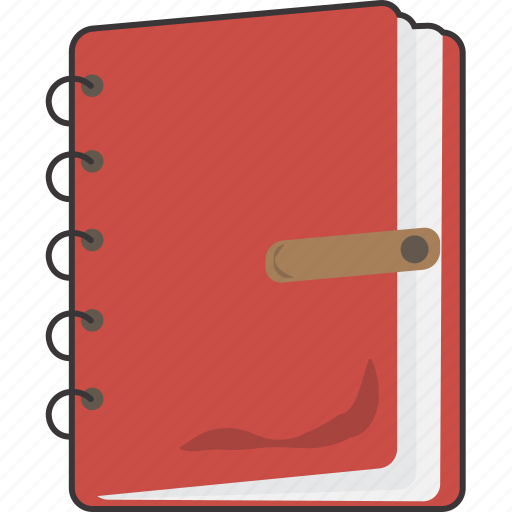 diary, journal, notebook icon