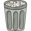 garbage, trash icon
