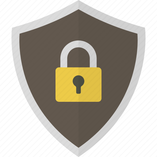 lock, padlock, protection, safety, security, shield icon