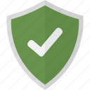 shield, accepted, pass, protection, safety, security, verify