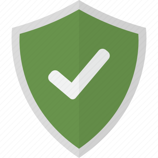 Shield, accepted, pass, protection, safety, security, verify icon - Download on Iconfinder