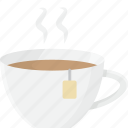 cup, drink, hot, tea, teacup icon