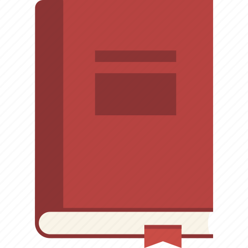 book, bookmark, closed, journal icon