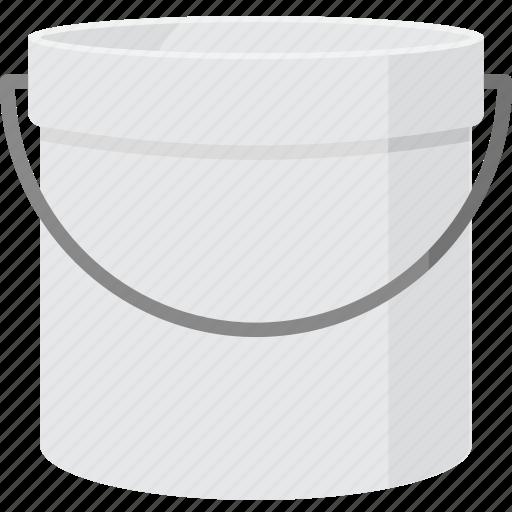 bucket, pail, tool icon