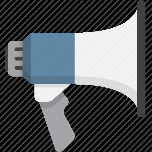 alert, bullhorn, megaphone, notification icon