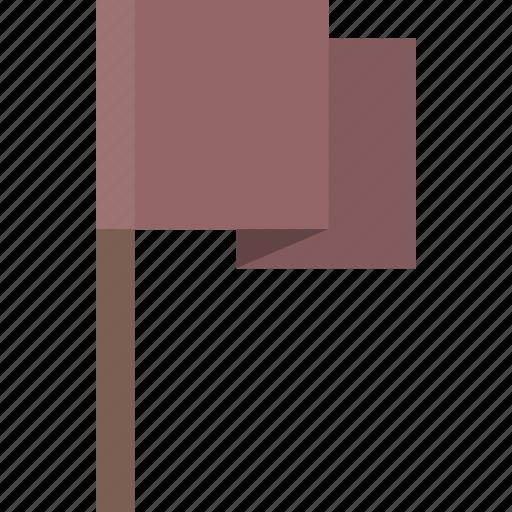 alert, flag, location, purple icon
