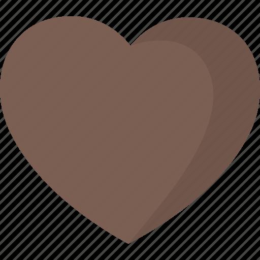 chocolate, favorite, heart, like icon