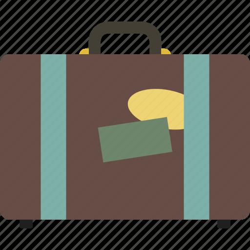 business, luggage, suit case, suitcase, tourism, travel icon