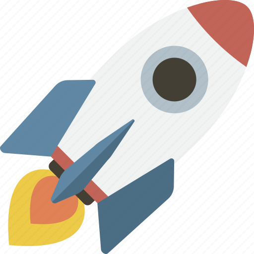 launch, mission, rocket, space ship, spaceship, startup icon