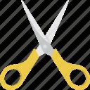 cut, scissor, scissors, tool icon