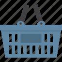 basket, shopping, shopping basket