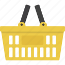 basket, shopping, shopping basket icon