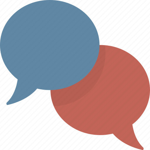 bubbles, chat, conversation, speech, talk icon