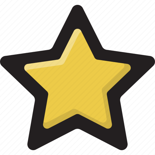 filled, outline, rating, star icon