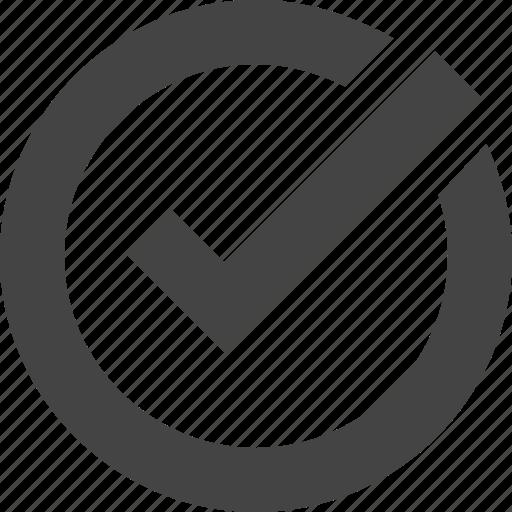 check, confirm, tick, verified, verify icon