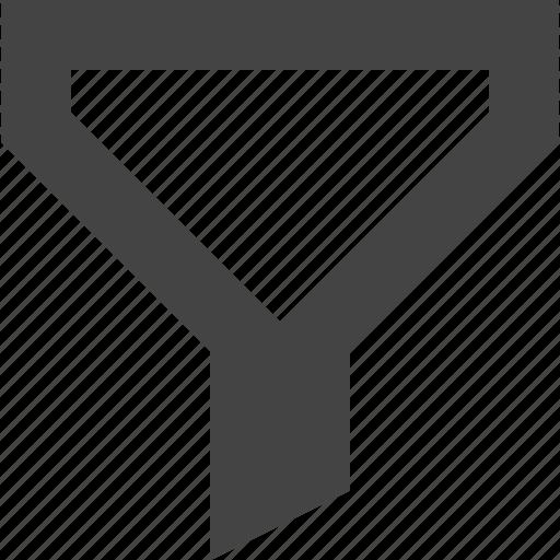 filter, funnel, segment icon