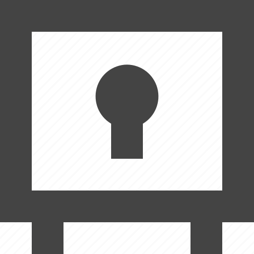 box, safe, safety, security icon