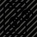business, computer, estimator, logo, medical, silhouette, web
