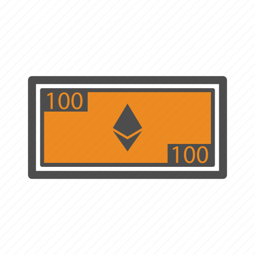 bill, blockchain, cash, ethereum, money icon