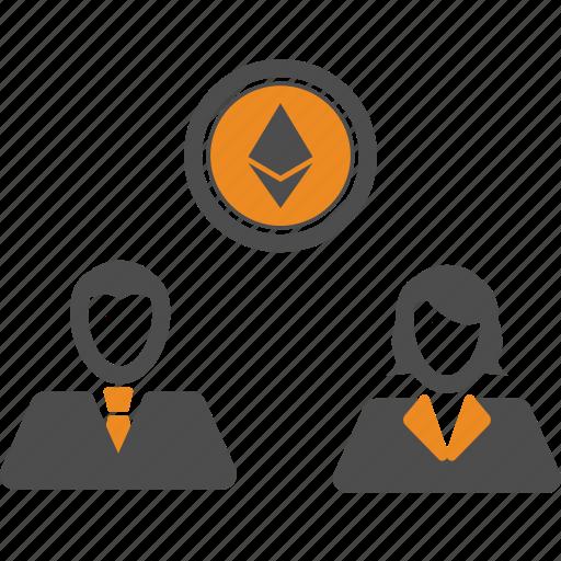 assignment, blockchain, ethereum, money, transfer icon